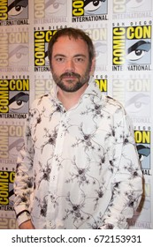 San Diego, CA - July 27 2014:  Mark Sheppard of The CW's Supernatural arrives at Comic Con 2014 in San Diego, CA.