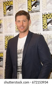 San Diego, CA - July 27 2014:  Jensen Ackles of The CW's Supernatural arrives at Comic Con 2014 in San Diego, CA.