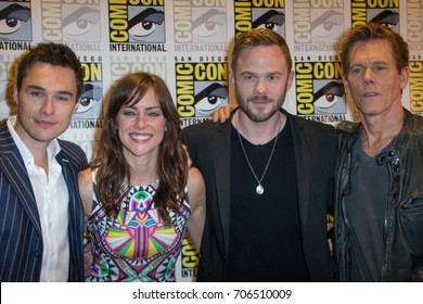 San Diego, CA - July 27 2014:  The Cast of Fox's The Following arrives at Comic Con 2014 in San Diego, CA.