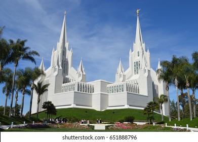 San Diego, CA Mormon Temple