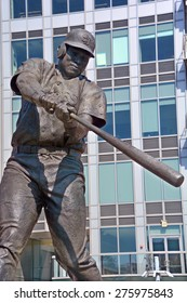SAN DIEGO CA USA APRIL 08 2015: Tony Gwynn, Mr. Padre was an American professional baseball right fielder who played 20 seasons (1982-2001) in Major League Baseball (MLB) for the San Diego Padres.