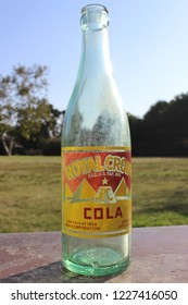 San Diego, CA / USA - August 31 2016: A vintage RC Cola bottle.