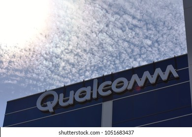San Diego, CA / USA - March 21 2018: Qualcomm launches Snapdragon 845-powered VR development kit.