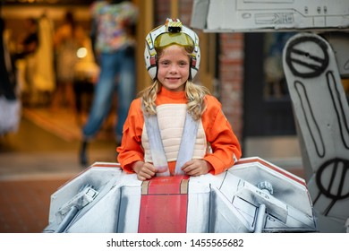 San Diego, California, JULY 19, 2019: Cosplayers during Comic Co