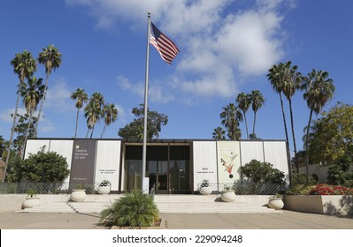 SAN DIEGO, CALIFORNIA - SEPTEMBER 28: Timken Museum of Art at Balboa Park in San Diego on September 28, 2014. The Timken Museum of Art is a fine art museum, established in 1965