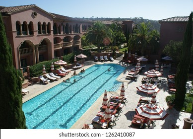 San Diego, California (USA) - September 1, 2014. San Diego's luxury Fairmont Grand Del Mar golf resort and spa. It is currently the #1 Luxury Hotel in San Diego as voted by TripAdvisor travelers.