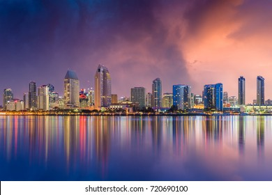 San Diego, California, USA skyline.