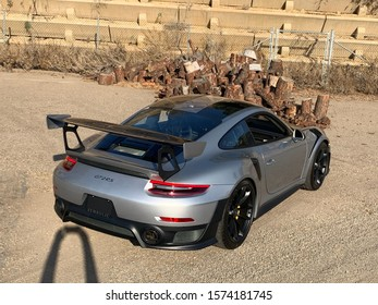San Diego, California/USA - Porsche 991 GT2 RS Weissach 911 Gray Color