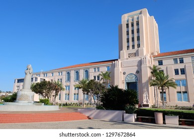San Diego City and County Administration Building (City Hall) 17/01/2017 - San Diego, California, United States