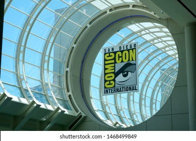 SAN DIEGO COMIC-CON, CALIFORNIA - JULY 18 2019. Inside the San Diego's Convention Center for the 50th Comic-Con.