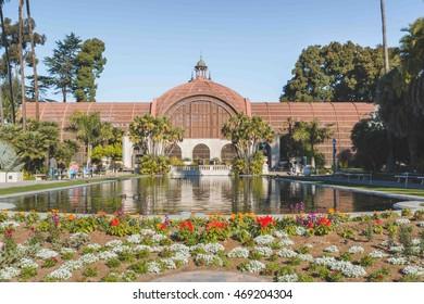 San Diego - December 26: Botanical Garden at Balboa Park on December 26, 2014.