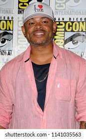 """SAN DIEGO - July 21:  Anthony Hemingway at the """"The Purge"""" Press Line at the Comic-Con International on July 21, 2018 in San Diego, CA"""