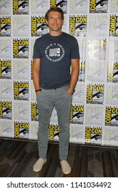 """SAN DIEGO - July 21:  Jason Blum at the """"The Purge"""" Press Line at the Comic-Con International on July 21, 2018 in San Diego, CA"""