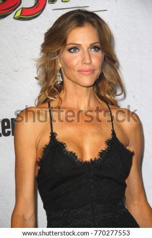 San Diego July 22 Tricia Helfer At The Entertainment Weeklys Annual Comic Con