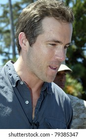 """SAN DIEGO - JUNE 16: Ryan Reynolds arrives at a screening of """"Green Lantern""""  at MCAS Miramar's Bob Hope Theater on June 16, 2011 in San Diego, CA. The event is for Marines families for Father's Day."""