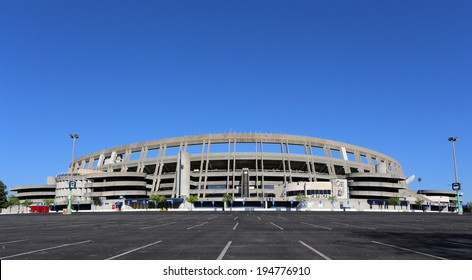 SAN DIEGO - MARCH 16: Qualcomm Stadium located in San Diego, California on March 16, 2014. Qualcomm Stadium is a multi-purpose sports stadium and the home of the San Diego Chargers of the NFL.