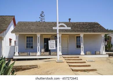San Diego Old Town Historic State Park - SAN DIEGO / CALIFORNIA - APRIL 21, 2017