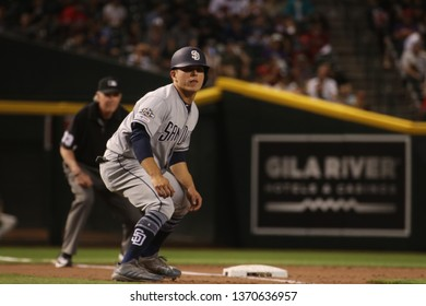 The San Diego Padres at Chase Field in Phoenix, Arizona /USA April 2019.