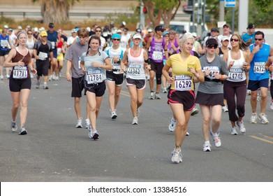 San Diego Rock-n-Roll Marathon - 01 June 2008; San Diego, California