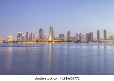 San Diego Skyline in the Morning