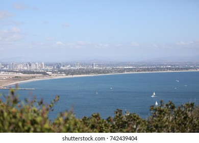 San Diego Skyline and Pacific Ocean
