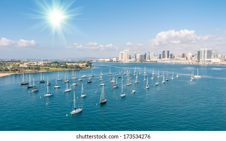 San Diego skyline and Waterfront