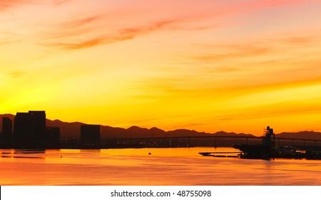 San Diego at sunrise