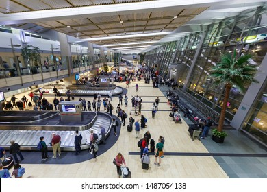 San Diego, United States – April 13, 2019: Terminal of San Diego airport (SAN) in the United States.