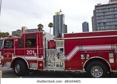 San Diego Fire Rescue Images, Stock Photos & Vectors