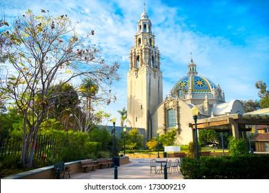San Diego's Balboa Park Bell Tower in San Diego California