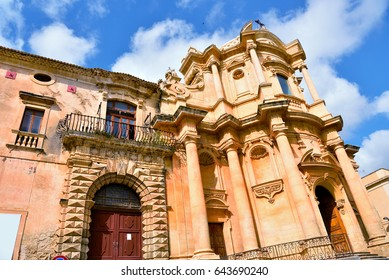 San Domenico church It was built by the architect Rosario Gagliardi between 1703 and 1727 Noto, Siracusa, Italy