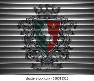San Escobar - Emblem of non-existent country, San Escobar
