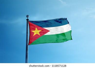 San Escobar flag on the mast