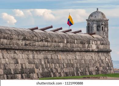 San Felipe de Barajas Castle, Cartagena Colombia