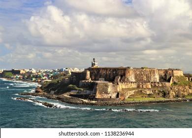 San Felipe del Morro fort in San Juan Puerto Rico