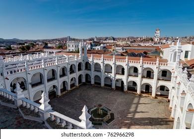 San Felipe Neri monastery in Sucre Bolivia
