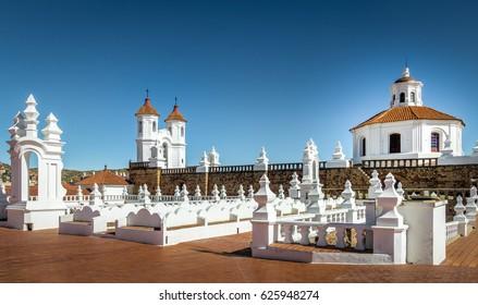 San Felipe Neri Monastery Terrace - Sucre, Bolivia