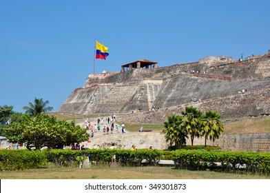 San Felipe's castle, Carthagena, Colombia.
