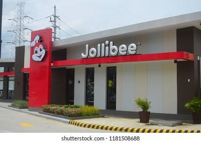 San Fernando, Philippines, August 28, 2018: Jollibee in San Fernando, Philippines.