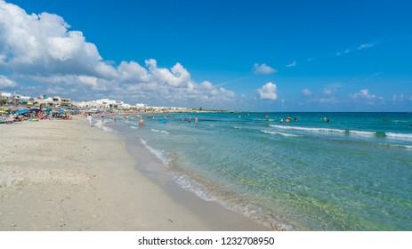 San Foca, Italy - August 2018: San Foca Di Melendugno, Salento, Puglia region, Italy