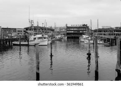 SAN FRANCISCO APRIL 19 Boats Docked Stock Photo (Edit Now) 361949861