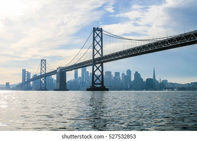 san francisco bay bridge  - Shutterstock ID 527532853