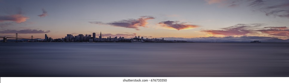 The San Francisco Bay seen from Treasure Island / EYES ON THE BAY