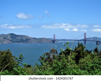 San Francisco Bridge Landscape View