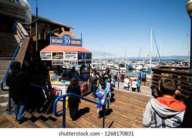 Pier 39 San Francisco Ca Images Stock Photos Vectors