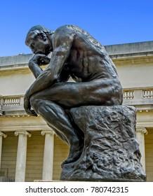 San Francisco, CA USA - 08/07/2013 - San Francisco, CA USA - The Legion of Honor Rodin's The Thinker