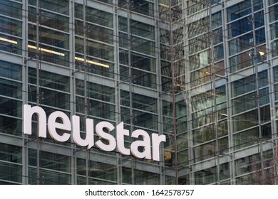 San Francisco, CA, USA - Feb 8, 2020: American technology company Neustar Inc.'s San Francisco office exterior.