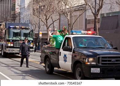 SAN FRANCISCO, CA, USA - MARCH 12:  The 160th Annual St. Patrick's Day Parade, March 12, 2011 in San Francisco, CA, USA
