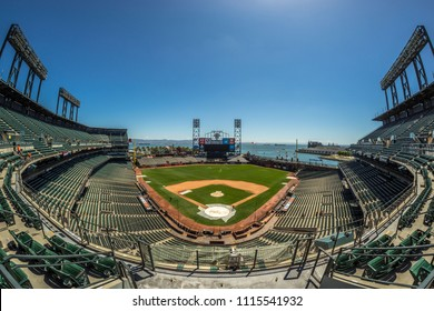 San Francisco, CA, USA, May 2016, SF Giants Stadium, Empty