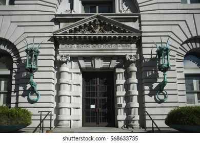 SAN FRANCISCO, CALIFORNIA - JANUARY 26, 2017: The 9th Circuit Court of Appeals, one of the busiest and controversial in the nation, has vacancies for 4 judges.